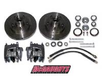 Brake Parts - Disc Brake Conversion Parts - McGaughy's Suspension - Rotor/Caliper Kit for Drop Spindles