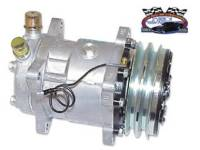AC Parts - Vintage Air Universal Kits - Vintage Air - Standard Compressor with Dual Grove Pulley