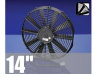 "Radiator Parts - Electric Fan Kits - Spal USA - 14"" Puller Electric Fan"