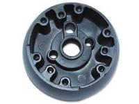 Steering Column Parts - Steering Wheels - Dynacorn - Steering Wheel Hub with Walnut Wood Wheel