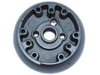 Steering Column Parts - Steering Wheels - Dynacorn - Steering Wheel Hub with Rosewood Wheel