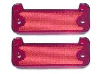 Backup Light Parts - Backup Light Lenses - Dynacorn International LLC - Rear Bumper Reflector Lens