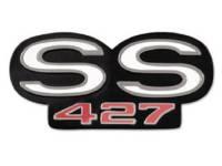 Emblems - Grille Emblems - Trim Parts USA - Grille Emblem SS 427