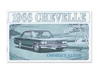 Chevelle - DG Automotive Literature - Owners Manual