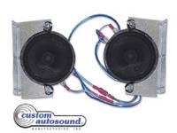 Custom Auto Sound Sale - 1967-81 Camaro - Custom Autosound - Dual Speaker