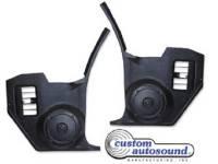 Chevelle - Custom Auto Sound - Kick Panel Speakers