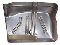 Classic Chevelle Parts Online Catalog - Experi Metal Inc - Toe Board RH