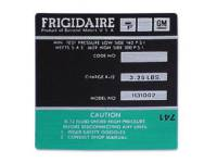Decals - AC Decals - Jim Osborn Reproductions - Frigidaire Air Comp Decal (Green)
