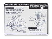 Decals - Jack Instructions - Jim Osborn Reprodutions - Jack Instructions
