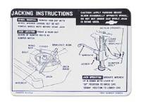 Decals - Jack Instructions - Jim Osborn Reproductions - Jack Instructions