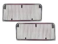 Hood Parts - Hood Moldings and Trim - TWE - Hood Louvers