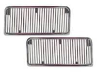 Classic Chevelle, Malibu, & El Camino Restoration Parts - TW Enterprises - Hood Louvers