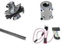 Steering Column Parts - Ididit Tilt Steering Columns - Ididit - Column InsTallation Kit (13/16x36)