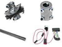 Steering Column Parts - Ididit Tilt Steering Columns - Ididit - Column InsTallation Kit (13/16x36)