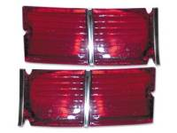 Taillight Parts - Taillight Lenses - RestoParts (OPGI) - Outer Taillight Lens