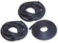 Classic Chevelle, Malibu, & El Camino Restoration Parts - H&H Classic Parts - Basic Weatherstrip Kit