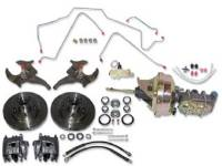Brake Parts - Disc Brake Conversion Kits - H&H Classic Parts - Front Disc Brake Kit