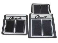 Floor Mats - Carpeted Floor Mats - Resto Parts - Floor Mats Black