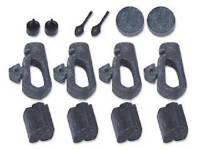 Rubber Bumpers - Body Bumper Kits - RestoParts (OPGI) - Body Bumper Kit