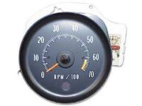 Dash Parts - Factory Gauges - OER (Original Equipment Reproduction) - Tachometer (6500 RPM Redline)