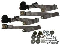Seatbelt Solutions - 3-Point Seat Belts Gray