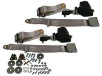 Seatbelt Solutions - 3-Point Seat Belts Silver