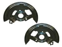 Brake Parts - Brake Rotors & Drums - Details - Disc Brake Backing Plates