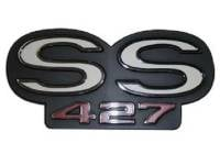 Emblems - Trunk/Rear Body Panel Emblems - OER - 427 Grille Emblem