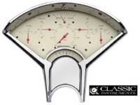 Classic Instruments - Classic Instruments Gauge Kit (Tan with Brown Letters)