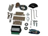 Classic Instruments - Classic Instruments Gear Selector Kit (Black with White Letters)