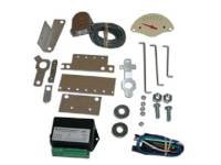 Tri-Five - Classic Instruments - Classic Instruments Gear Selector Kit (Tan with Brown Letters)