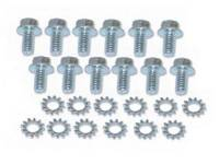 Exterior Screw Sets - Under Hood Sets - East Coast Reproductions - Firewall Screw Set