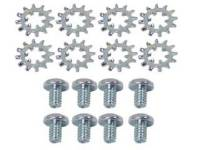 Interior Screw Sets - Door & Quarter Window Sets - East Coast Reproductions - Door/Window Hardware Screw Set