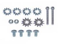 Screw Sets - Door & Quarter Window Sets - East Coast Reproductions - Quarter Glass Track Screw Set