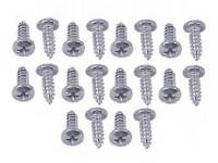 Tri-Five - East Coast Reproductions - Door Inspection Cover Screw Set