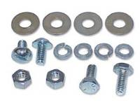 Exterior Screw Sets - Exterior Trim Screw Sets - H&H Classic Parts - Front License Plate Bracket Mount Kit