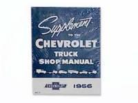 Manuals - Shop Manuals - Automotive Literature - Shop Manual (Supplement to 1955 Manual #5538)