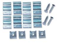 Interior Parts & Trim - Interior Screw Sets - H&H Classic Parts - Door Window Garnish Frame Screw & Clip Set