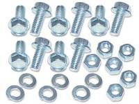 Sheet Metal Body Panels - Front End Sheetmetal Fastener Kits - H&H Classic Parts - Front Bed Panel Hardware Kit Zinc