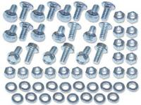 Screw Sets - Miscellaneous Screw Sets - H&H Classic Parts - Front Bed Panel Hardware Kit Zinc