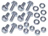 Sheet Metal Body Panels - Front End Sheetmetal Fastener Kits - H&H Classic Parts - Front Bed Panel Hardware Kit Stainless