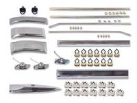 Side Moldings - 1962-66 Moldings - H&H Classic Parts - Complete Side Molding Kit