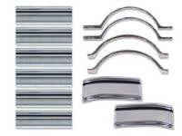 Side Moldings - 1967-68 Moldings - H&H Classic Parts - Complete Side Molding Kit