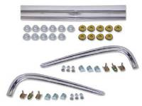 Side Moldings - 1967-68 Moldings - H&H Classic Parts - Hood & Fender Molding Trim Kit