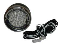 Taillight Parts - Taillight Assemblies - United Pacific - LED Clear LED Taillight Assembly (Black)