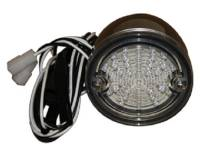 Truck - United Pacific - LED Clear LED Taillight Assembly (Stainless)