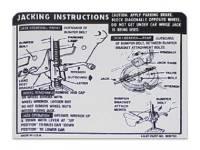 Decals - Jack Instruction Decals - Jim Osborn Reproductions - Jack Instructions