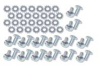 Exterior Screw Sets - Trunk & Tailgate Sets - East Coast Reproductions - Liftgate Window Frame Screw Set