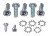 Exterior Screw Sets - Trunk & Tailgate Sets - East Coast Reproductions - Trunk Latch to Trunk Screw Set