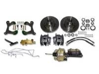 Brake Parts - Disc Brake Conversion Kits - H&H Classic Parts - Disc Brake Conversion Kit with Power Disc Brakes
